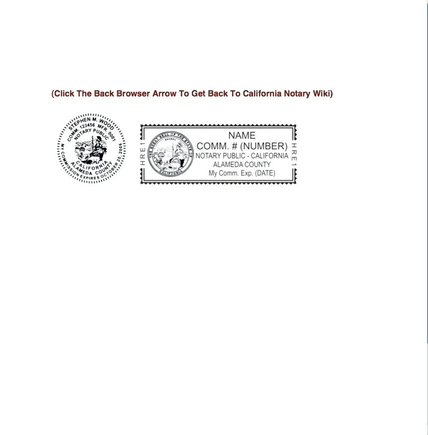 Notary Public Signature Template Texas