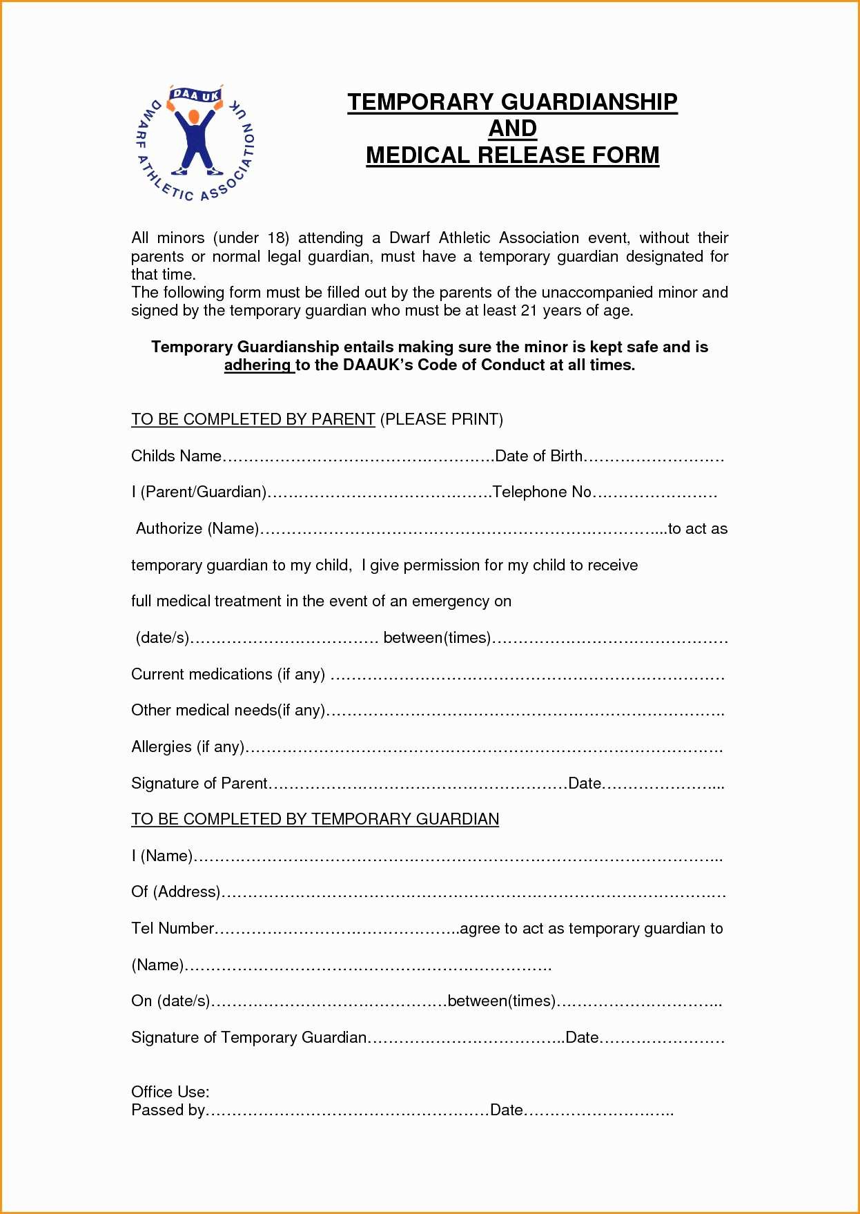 Free Printable Child Custody Papers Free Legal Guardianship Forms Oklahoma Temporary Guardianship Forms