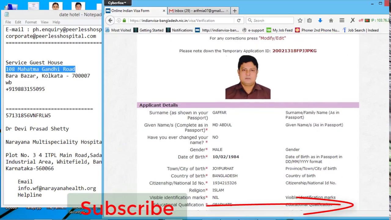 online-indian-visa-application-form-for-deshi-nationals Online Indian Visa Application Form For Desh on