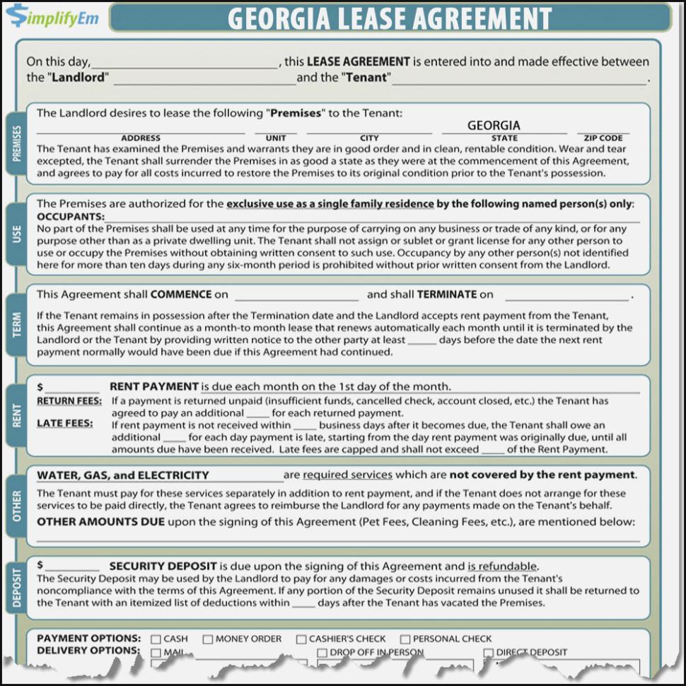 Oregon Rental Agreement Forms