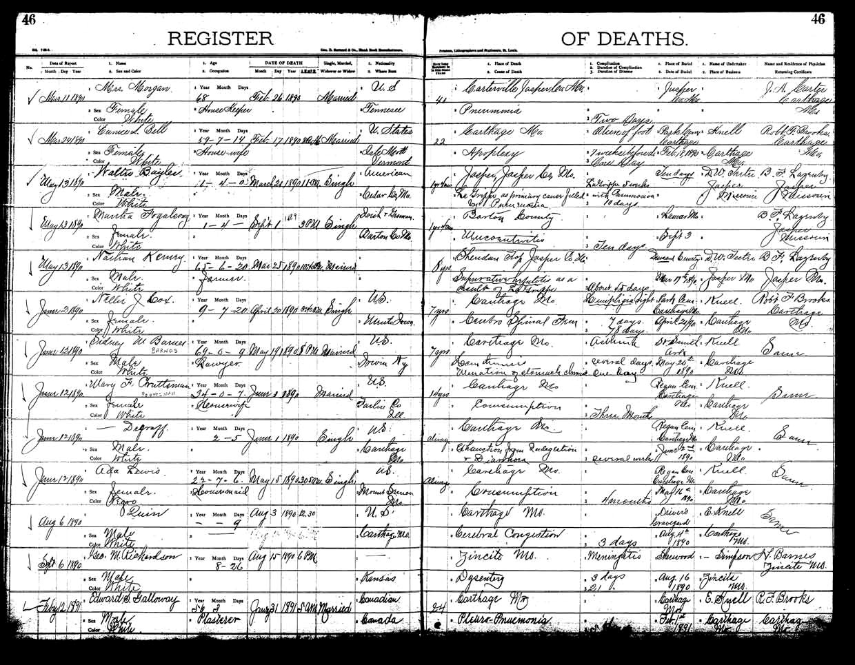 Vital Records Birth Certificate Awesome Missouri Digital Heritage Birth And Death Records