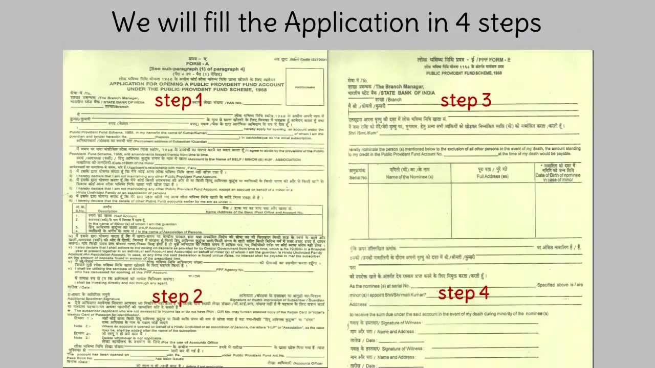 Post Office Application Form 2017 Ap
