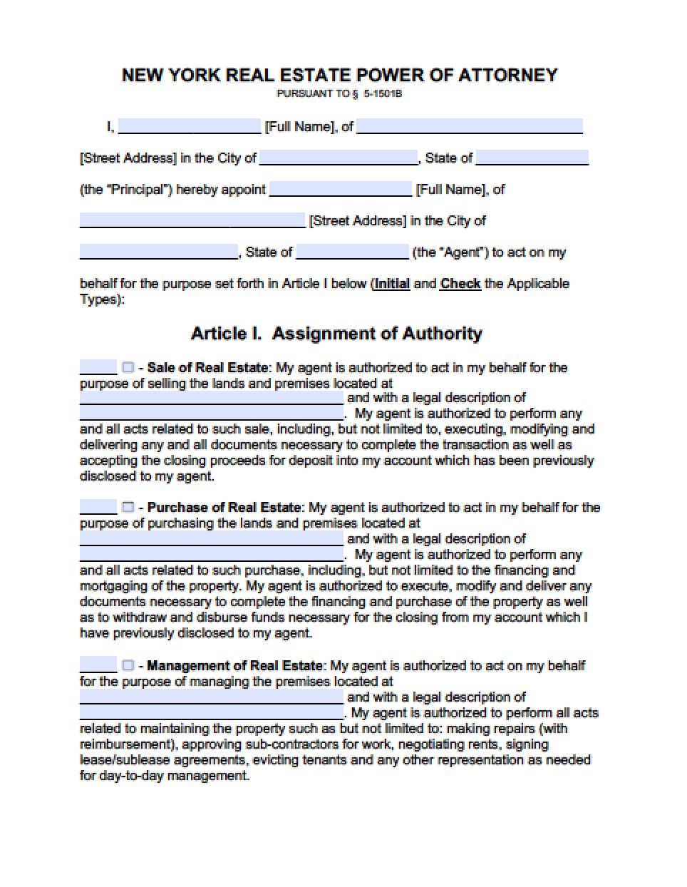 Power Of Attorney And Gifts Rider Form
