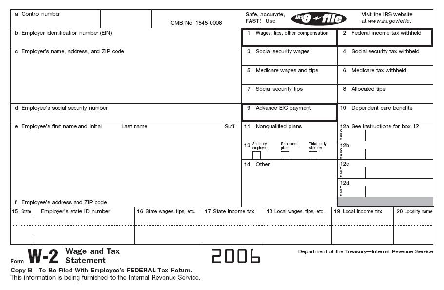 Print Fake W2 Forms