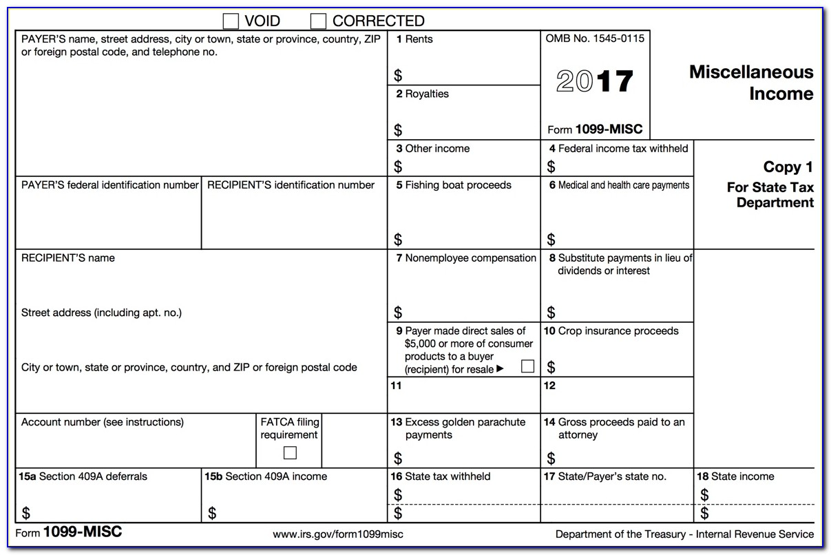 Print Out 1099 Forms Quickbooks