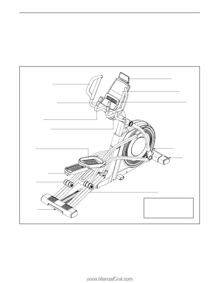 Proform Elliptical Trainer 7.0 Manual