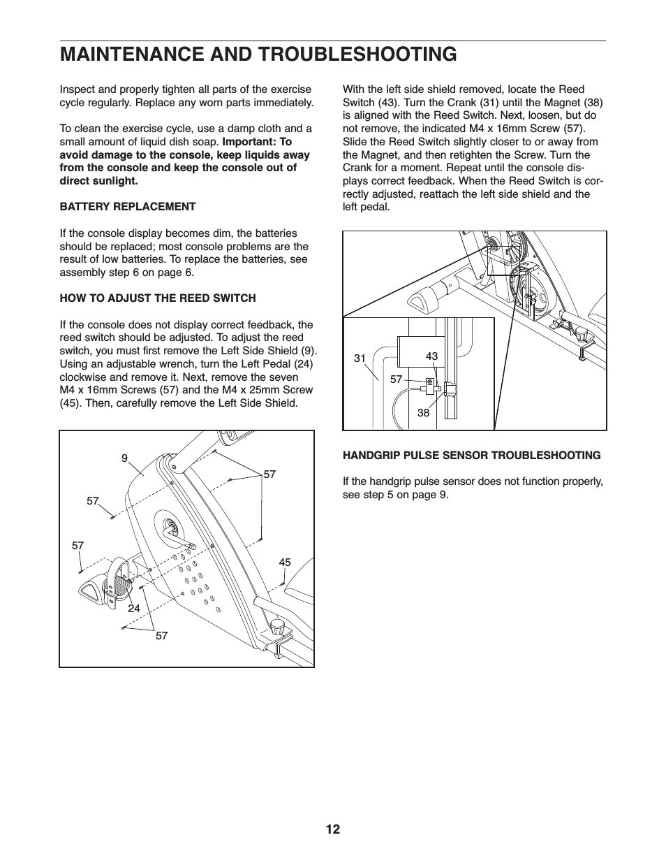 Proform Gr 80 Owners Manual