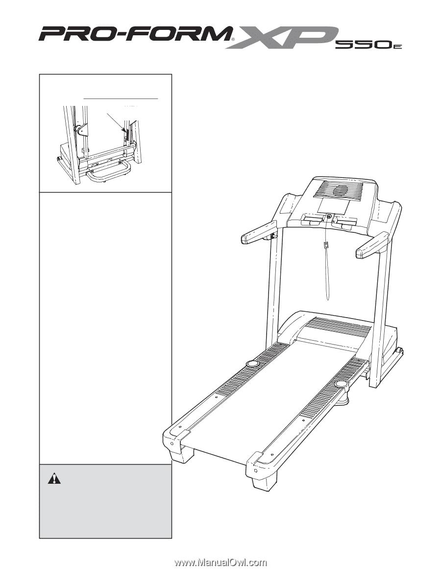 Proform Xp 550e Treadmill Manual | Universal Network