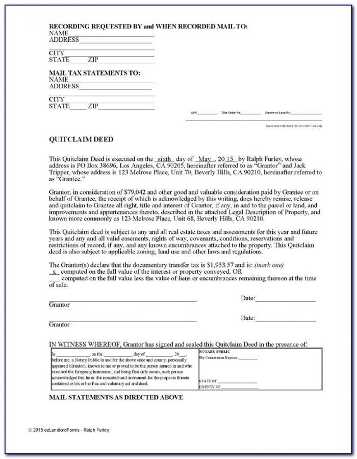 Quit Claim Deed Form Polk County Iowa