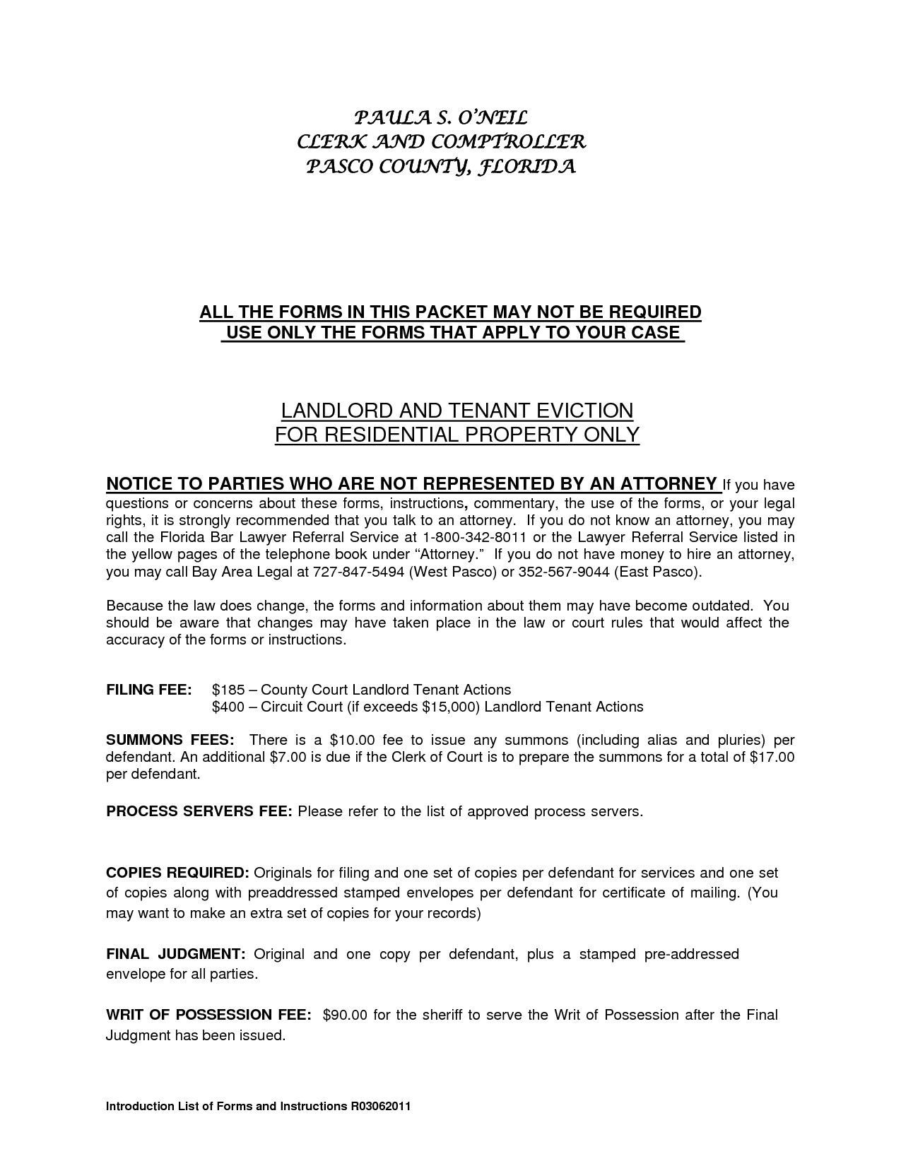 Rental Agreement Form Between Landlord And Tenant