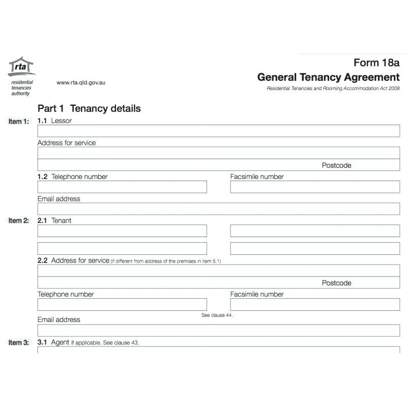 Rental Application Forms Bc