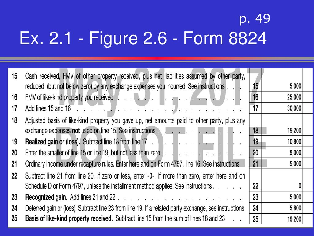 reverse-1031-exchange-form-8824  Exchange Form Example on cash out, workflow for, agreement form, tax return, rules timelines, explained rules, flyer for va,