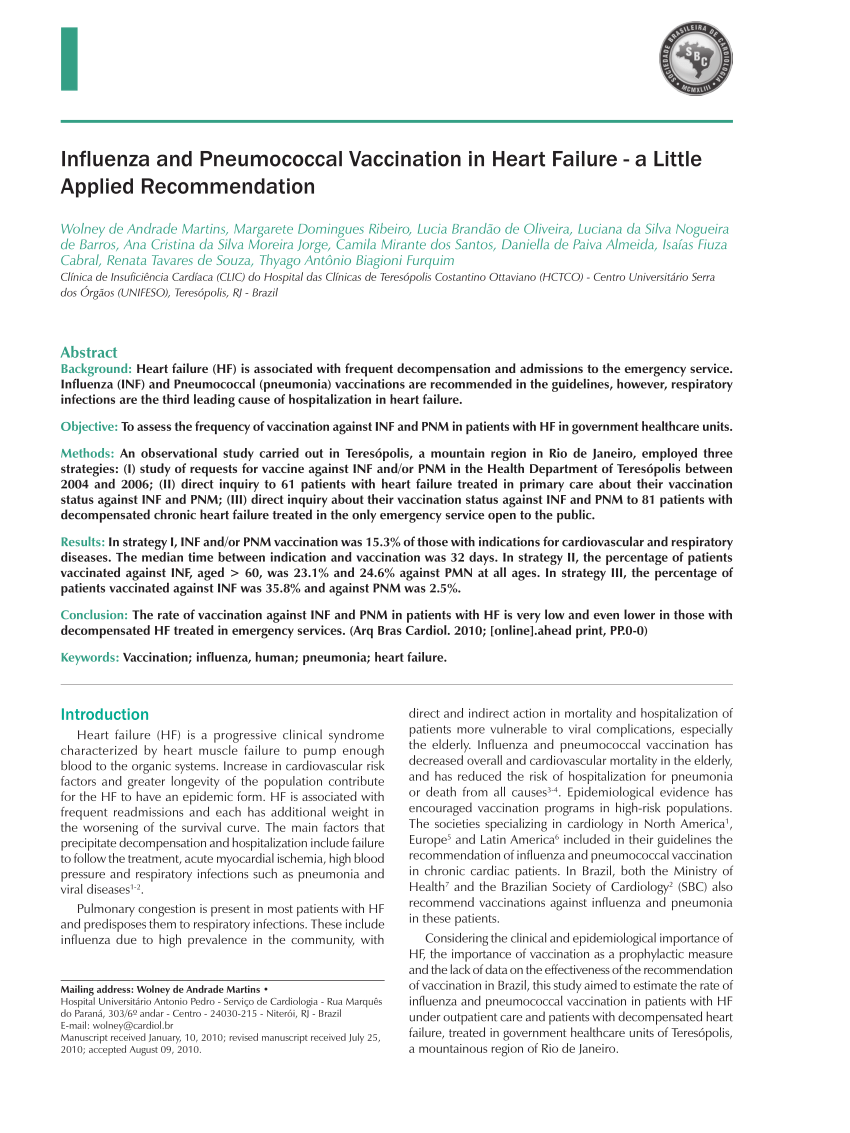 Seasonal Influenza And Pneumococcal Vaccine Consent Form
