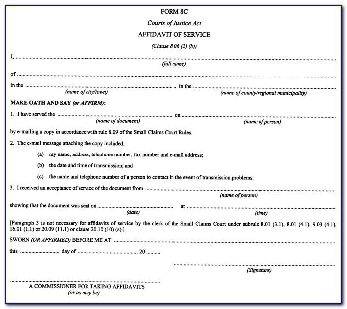 Small Claims Court Forms Orlando Florida