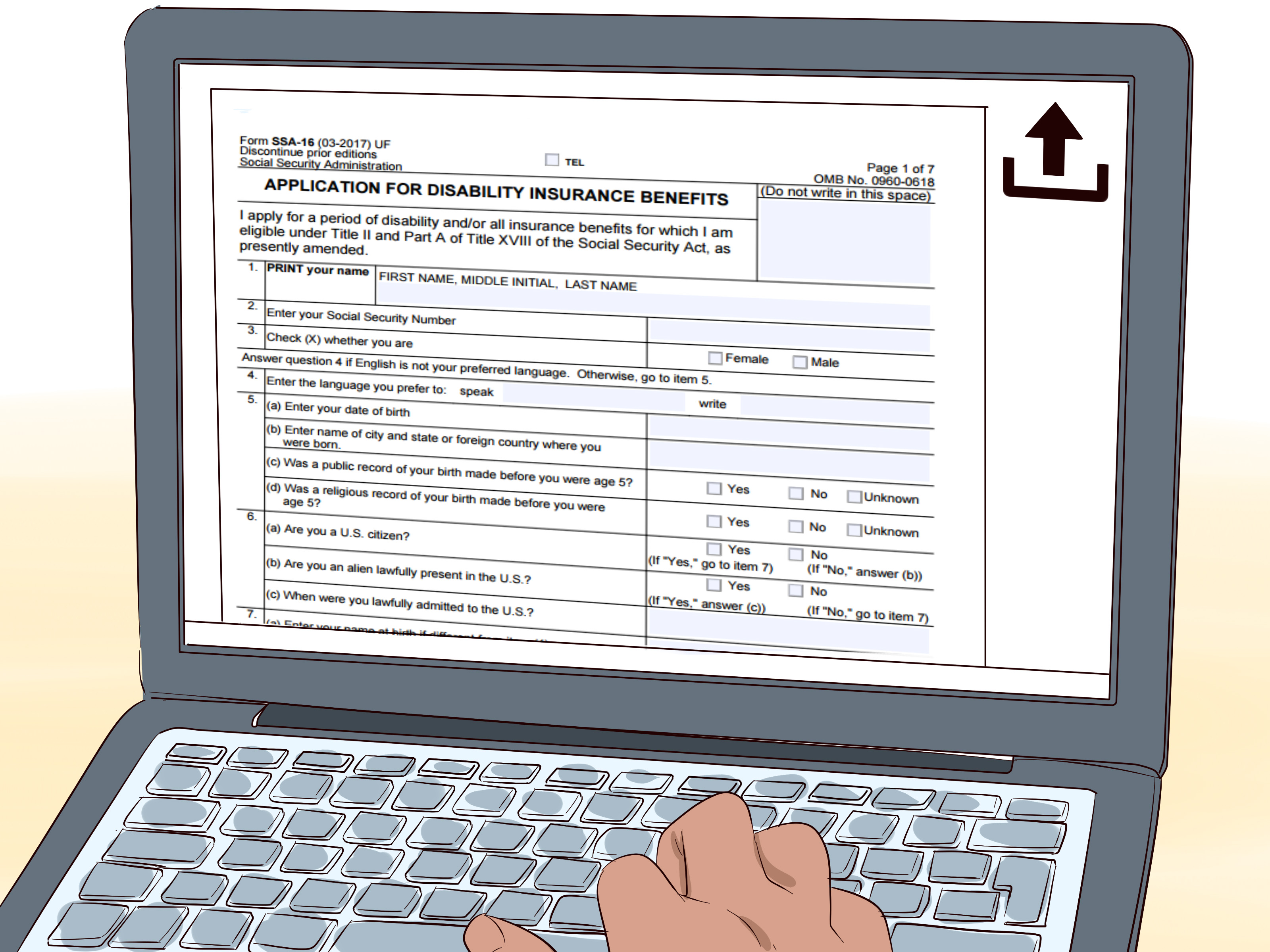 ssi disability form for doctor