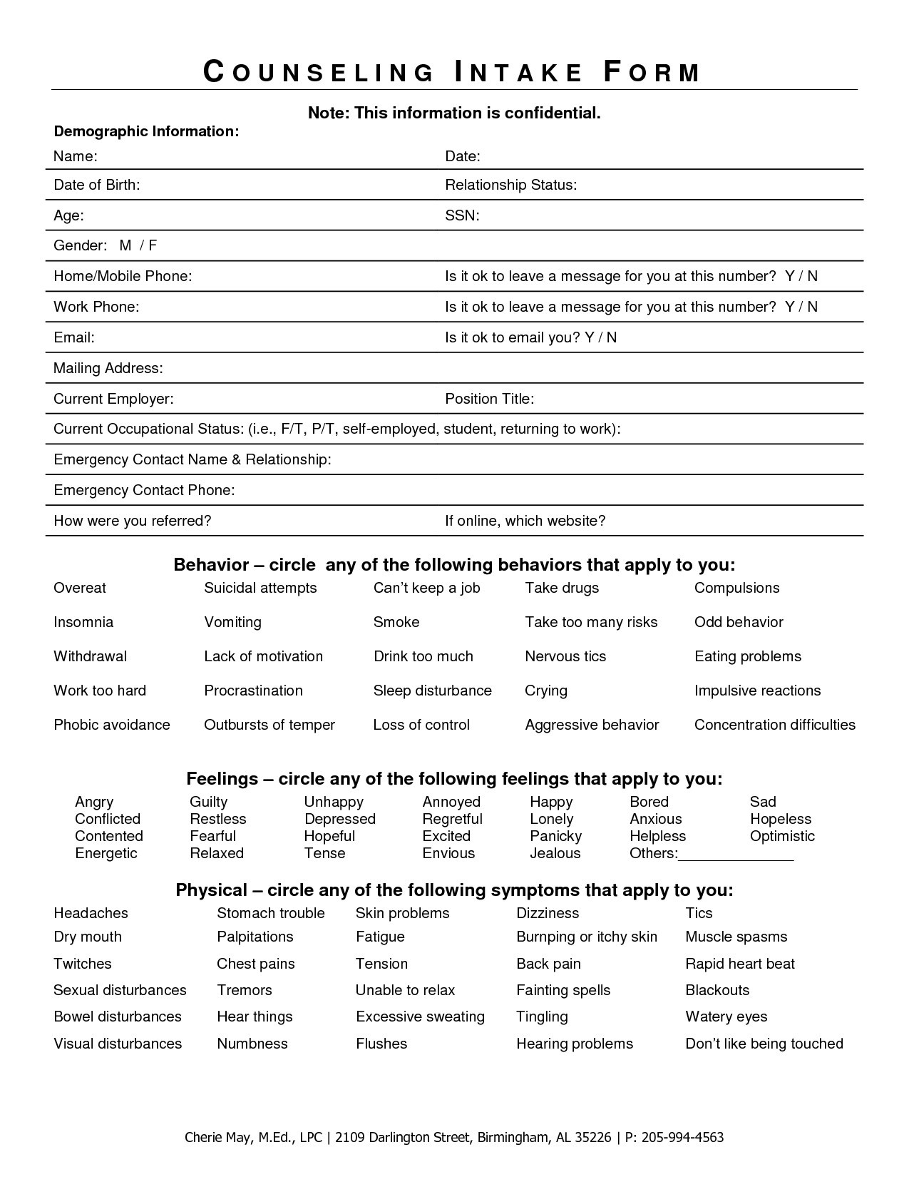 Student Intake Form Template Luxury 20 Fresh Intake Form