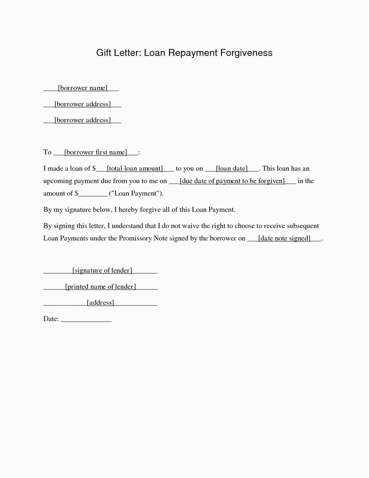 Fedloan Deferment Form Model Student Loan Forgiveness Letter Gallery