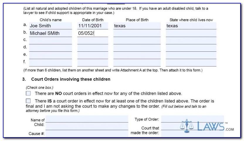 Tarrant County Clerk Divorce Filing