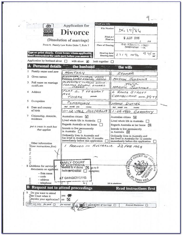 Tarrant County Family Court Divorce Forms