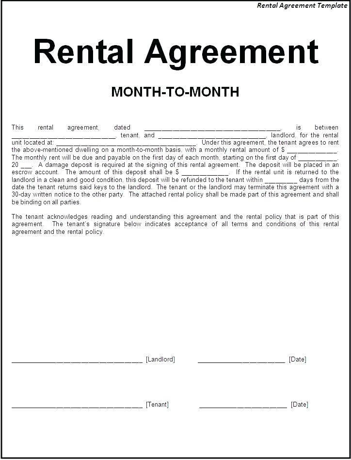 Tenant Application Form Ontario