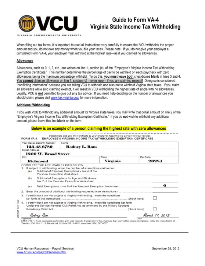 West Virginia State Tax Withholding Form 2018