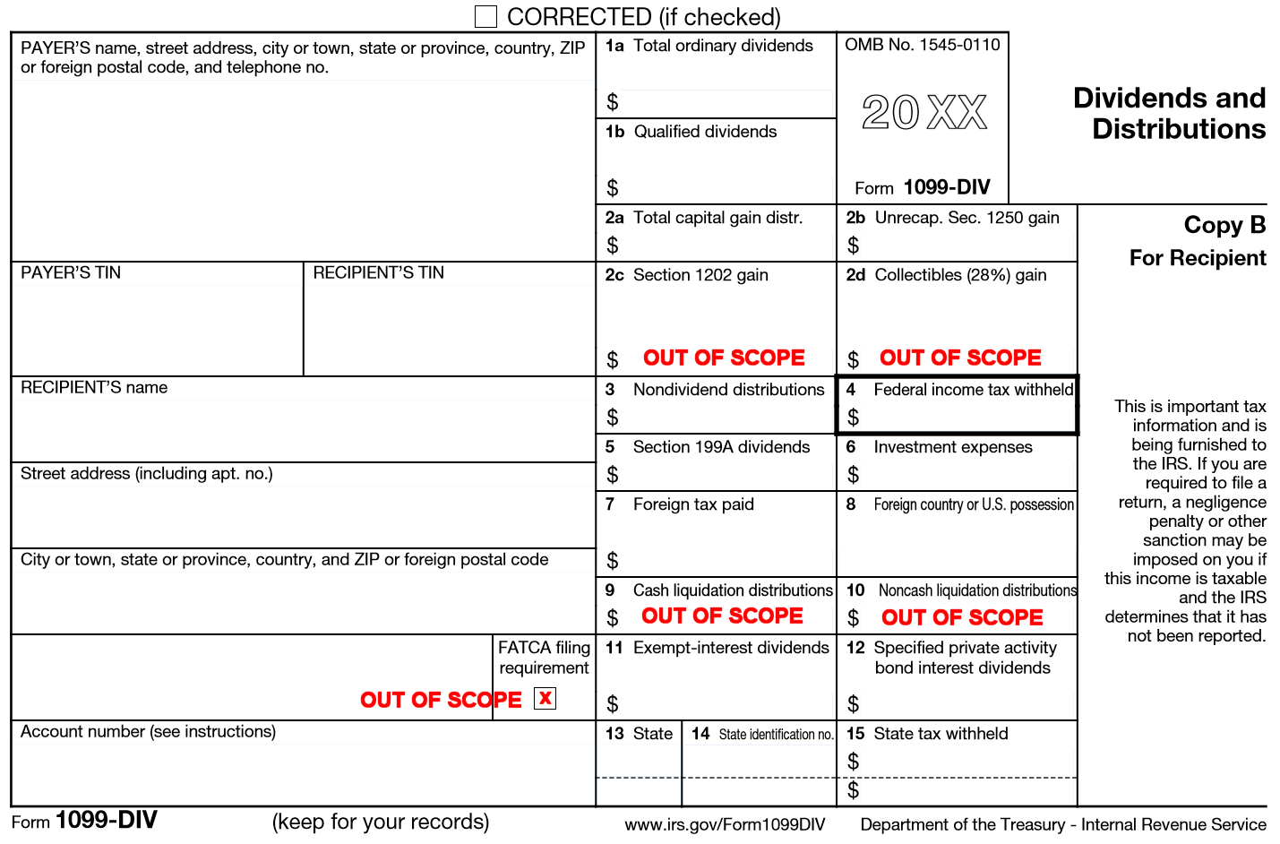 What Is A 1099 Div Tax Form