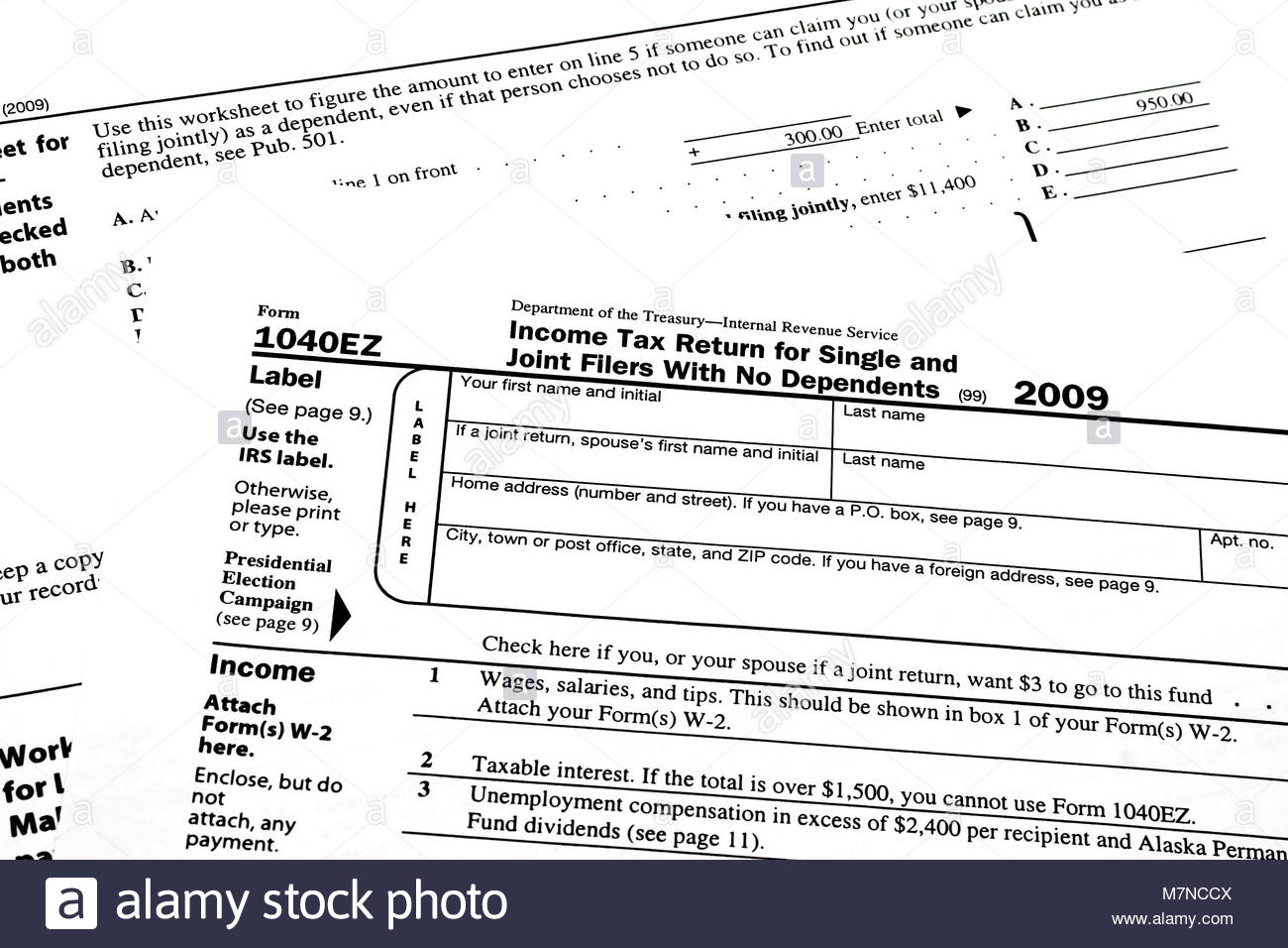 Where Can I Get A 1040ez Tax Form