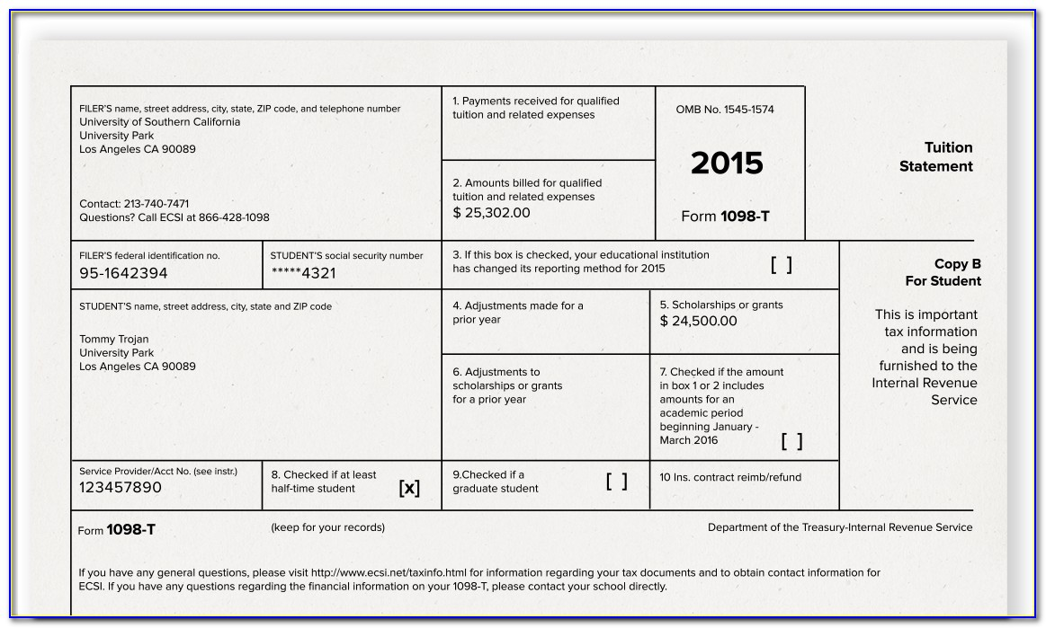Where To Get 1098 Tax Forms