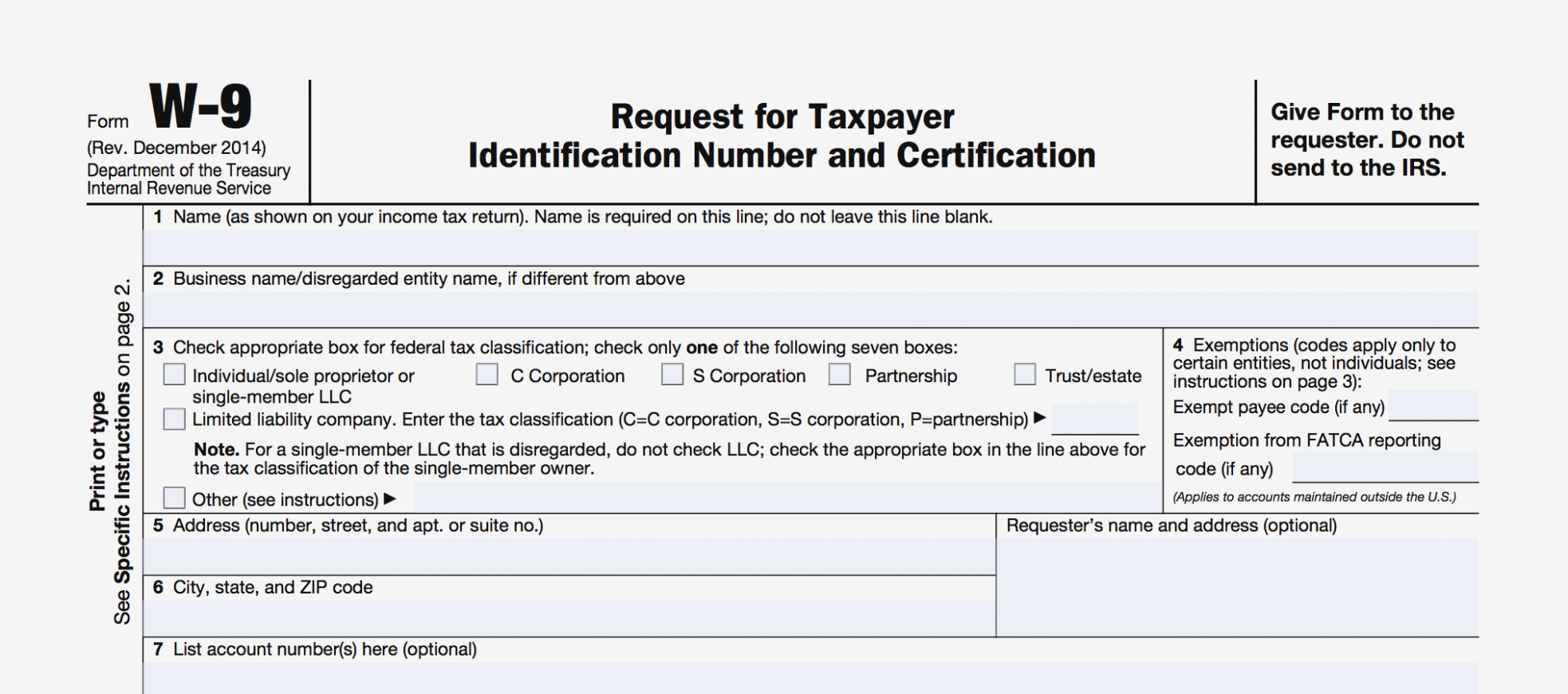 Where To Obtain Form 1099